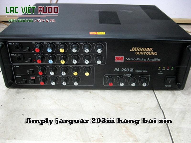 Amply nghe nhạc hàng bãi amply jarguar 203iii