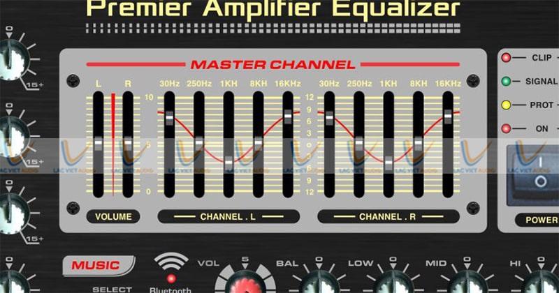 Amply Nanomax Pro 900i có master channel