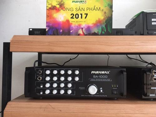 Amply Paramax SA-1000 tại Lạc Việt Audio