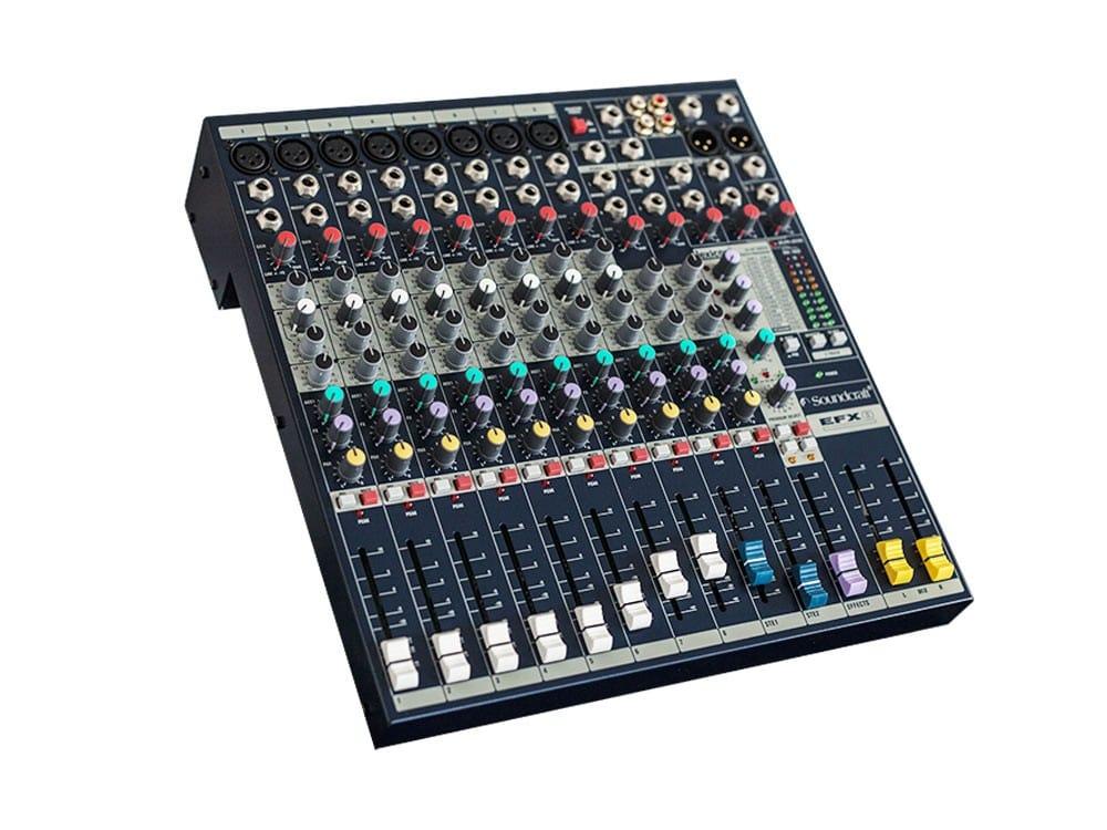 Các tính năng của bàn mixer soundcraft EFX8