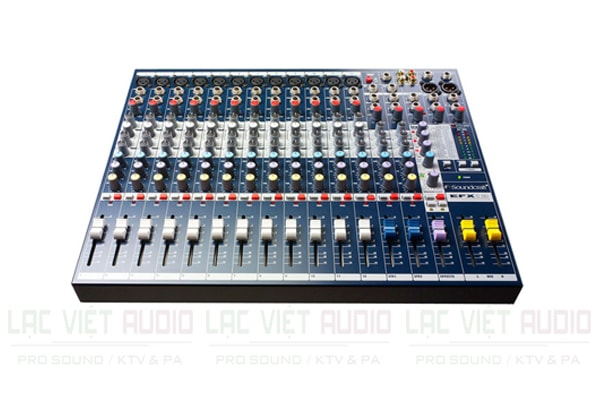 Giới thiệu về bàn mixer Soundcraft EFX12