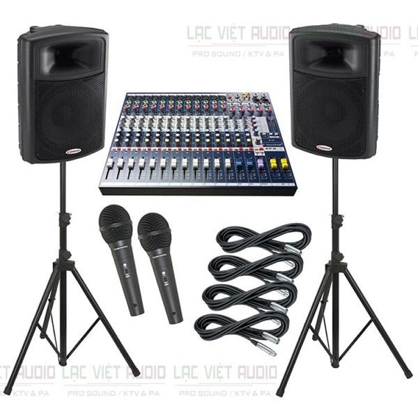 Bàn mixer Sondcraft EFX12