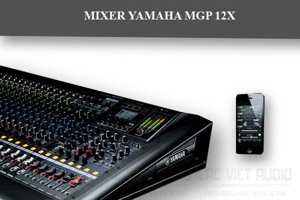 Mixer Yamaha MGP12X 12-Channel