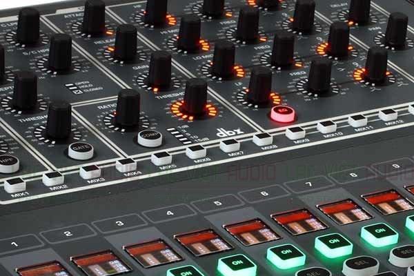 Giao diện của mixer Soundcraft SI Impact