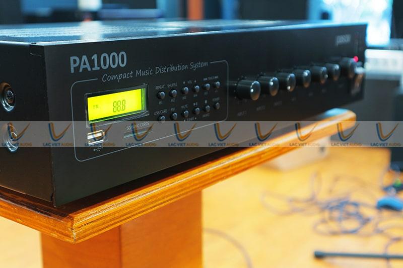 Amply PASO PA1120 có nhiều tính năng nổi bật