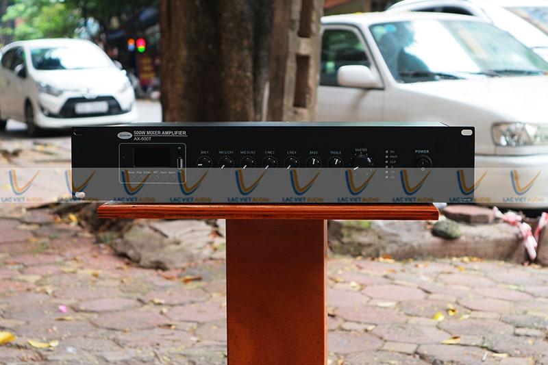 Asima AX-500R phù hợp với nhiều không gian khác nhau