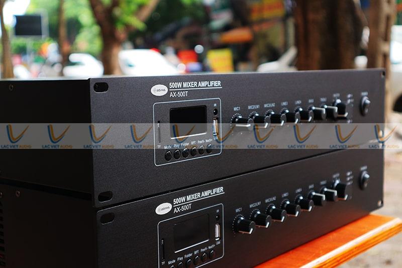 Asima AX-500R có hệ thống nút điều chỉnh thông minh