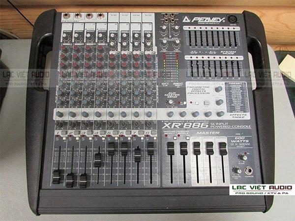 Định giá bàn mixer liền công suất cũ theo chất lượng thiết bị
