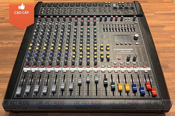 Mixer công suất chính hãng Dynacord CMS 1000: 8.000.000 VNĐ