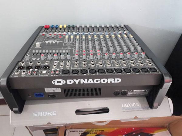 Thiết kế bàn mixer Dynacord CMS 1000 chuyên nghiệp