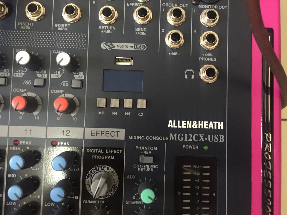 Bàn mixer MG12CX chất lượng cao chuyên dùng cho hội trường