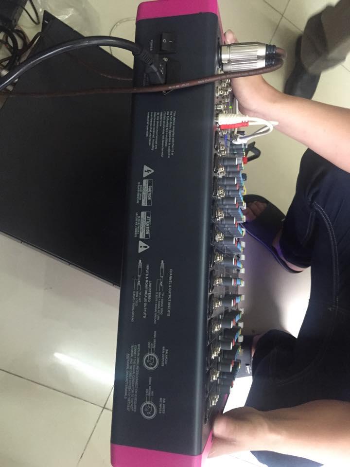 Lạc Việt audio bán chiếc Mixer  MG12CX với giá chỉ 6tr đồng