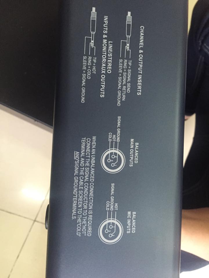 Bàn mixer MG12CX chất lượng cao tại Lạc Việt audio