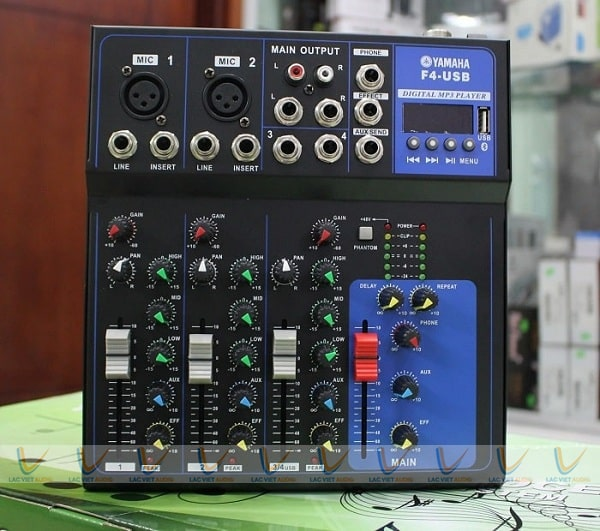 Mixer mini Yamaha F4-USB bluetooth