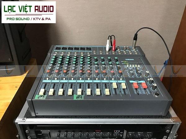 Mixer cao cấp trộn và xử lý âm thanh chuyên nghiệp