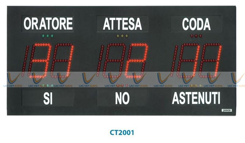 Bảng điều khiển hội trường Paso CT2001