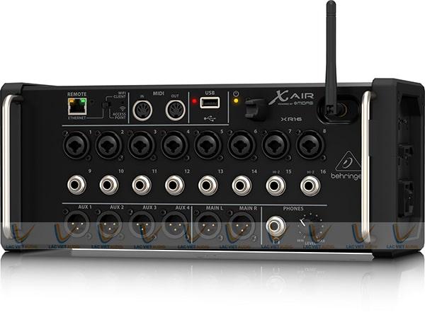 Mua mixer digital Behringer XR16 nhập khẩu chính hãng giá tốt tại Lạc Việt