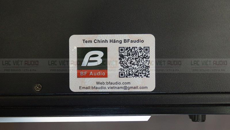 Hàng chính hãng của BF audio, phân phối bởi Lạc Việt Audio