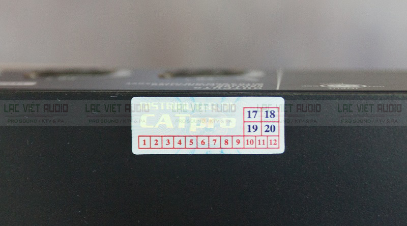 Tem bảo hành của đơn vị nhập khẩu