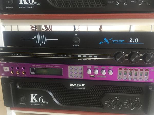 Bộ chống hú micro xtr 2.0 xuất hiện trong nhiều dàn âm thanh chuyên nghiệp