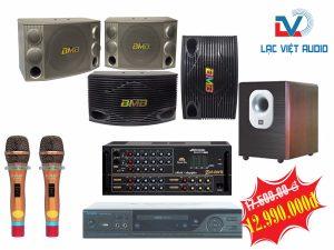 Bộ dàn karaoke gia đình LV12