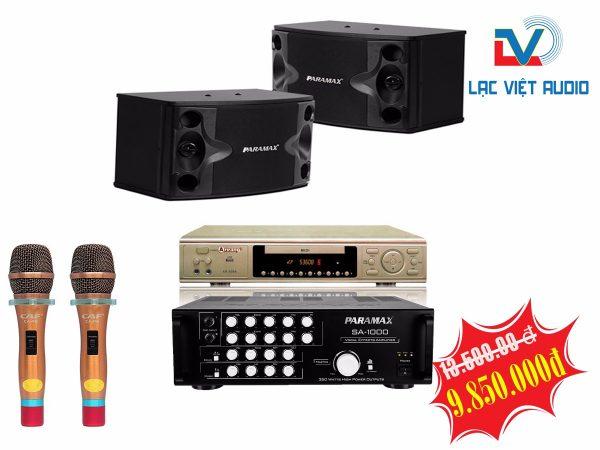 Bộ dàn karaoke gia đình LV 14 chất lượng cao.