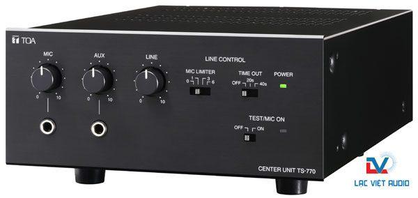 Bộ điểu khiển trung tâm TOA TS-770 đẳng cấp