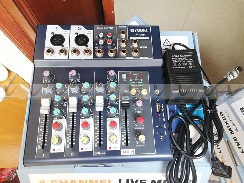 Bộ mixer livestream Yamaha F4