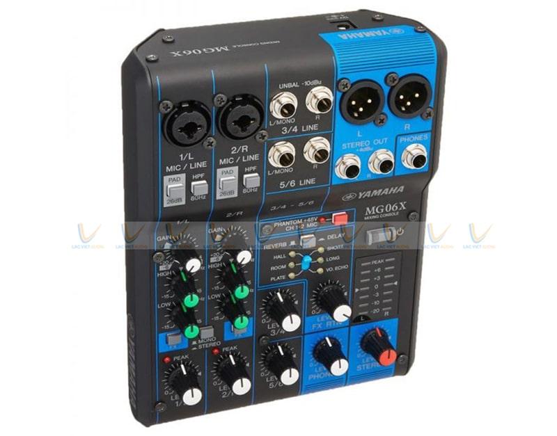 Bộ mixer livestream Yamaha MG06X
