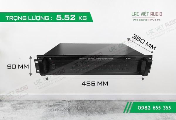 Bộ Auto nguồn DB LPS 116 kích thước