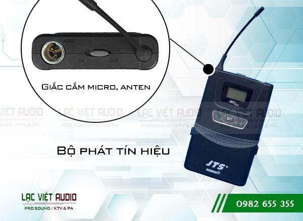 Thiết bị sử dụng sóng cao tần UHF, có khả năng hút âm và lọc tạp âm tốt