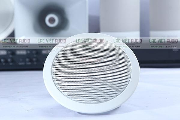 Loa âm trần Bosch 6W LHM 0606/10 ứng dụng đa dạng trong phát nhạc nền và âm thanh thông báo, âm thanh công cộng