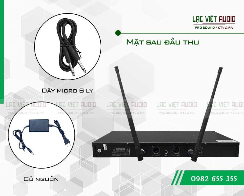 Phụ kiện đầy đủ, hàng phân phối chính hãng bởi Lạc Việt audio