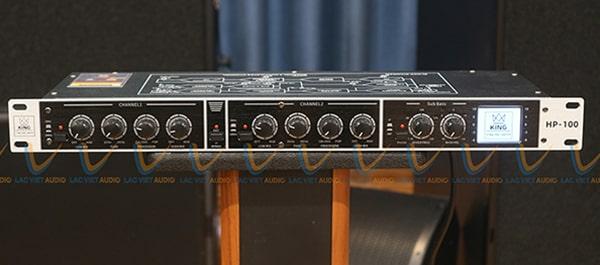 Các núm điều chỉnh âm thanh của King HP-100