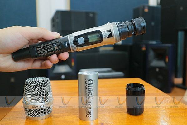 Các thiết bị linh kiện của micro EUDAC SKM-200