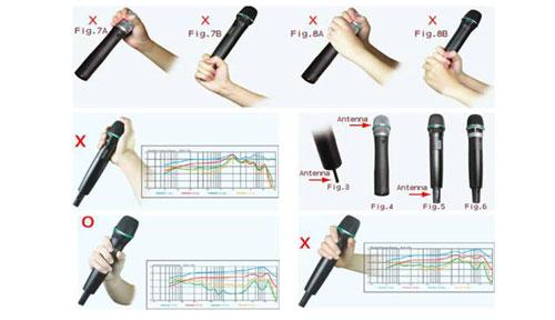 Hướng dẫn cầm micro đúng cách