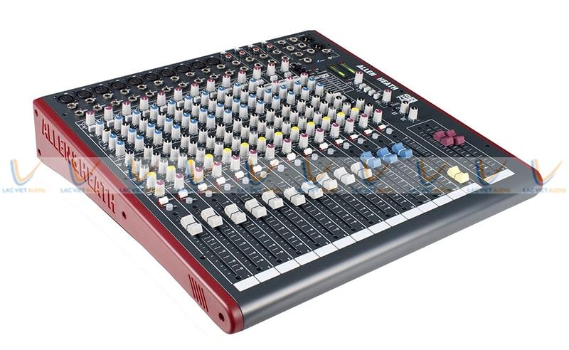 Cách chỉnh echo Mixer Allen Heath ZED 12FX