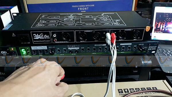 Ghép nâng tiếng với vang số nâng cao khả năng điều chỉnh và xử lý tín hiệu âm thanh
