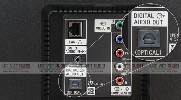 Xuất âm thanh từ tivi Samsung ra loa qua cổng Optical