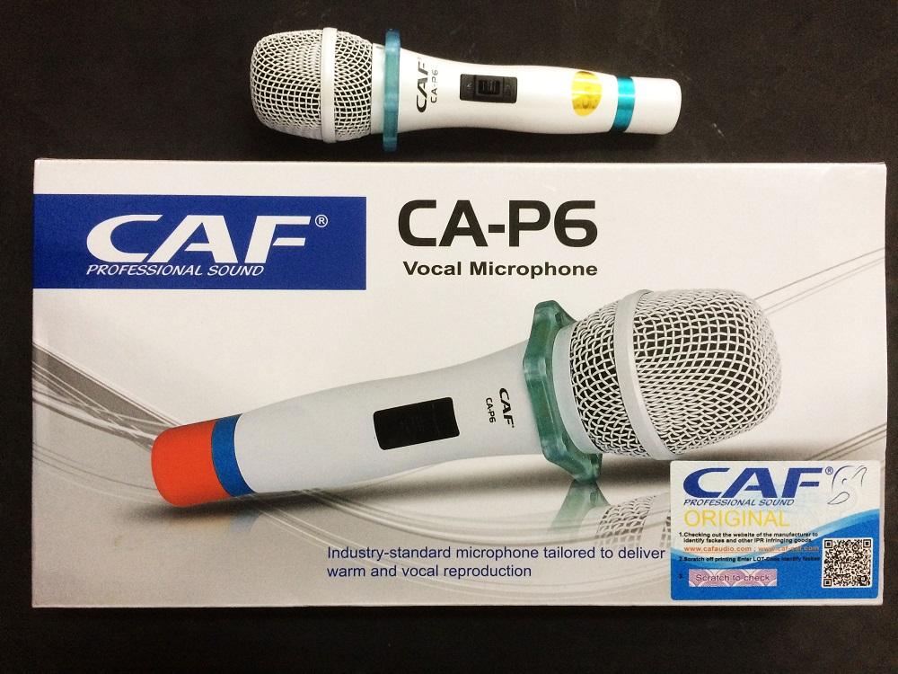 Micro có dây CAF CA-P6 hát karaoke hay