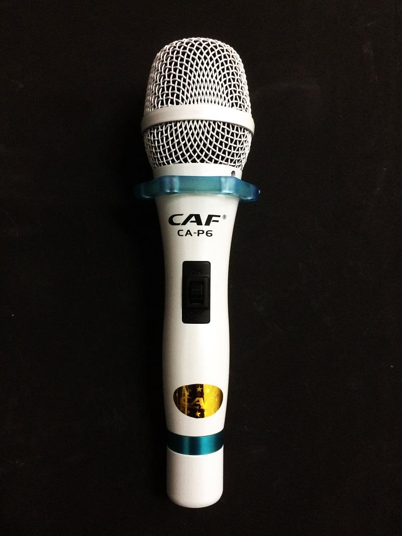 Micro CAF P6 cho giọng hát trong trẻo nhất trong các loại micro có dây