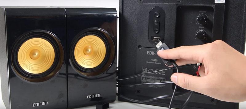 Cấp nguồn điện cho thiết bị biến loa thường thành loa bluetooth