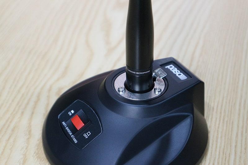 Chân để micro Paso B260 tính hợp tính năng on/ off chuyển đổi
