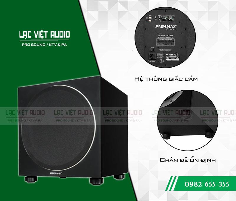Loa Paramax SUB 1000 NEW chi tiết sản phẩm