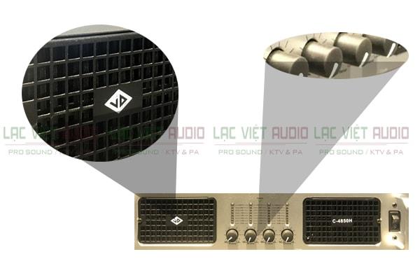 Chi tiết cấu tạo bên trong của sản phẩm cục đẩy JD C4850H Lạc Việt Audio