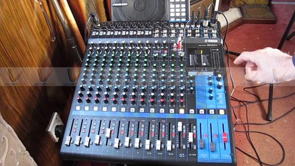 Cách chỉnh mixer Yamaha MG166CX đơn giản