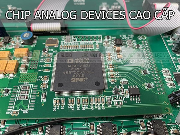 BK Sound X5 Plus được trang bị chip xử lý DSP đời mới nhất