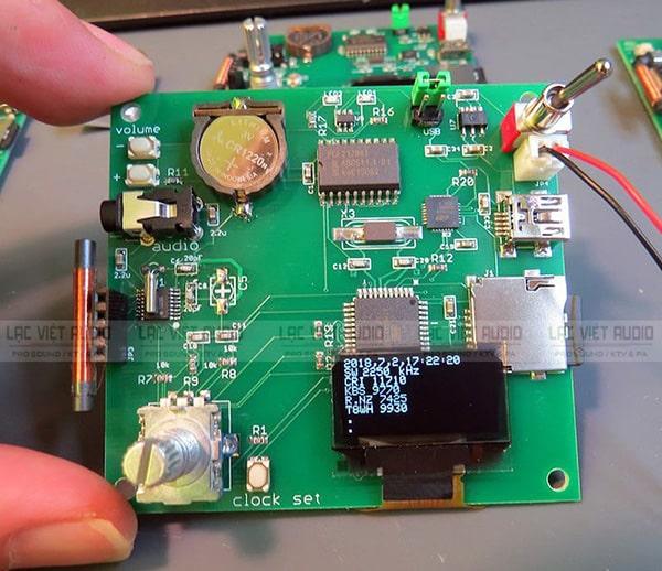 Công nghệ DSP xử lý âm thanh cao cấp