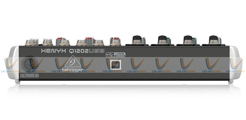 Cổng nguồn kết nối Mixer Behringer Xenyx Q1202USB