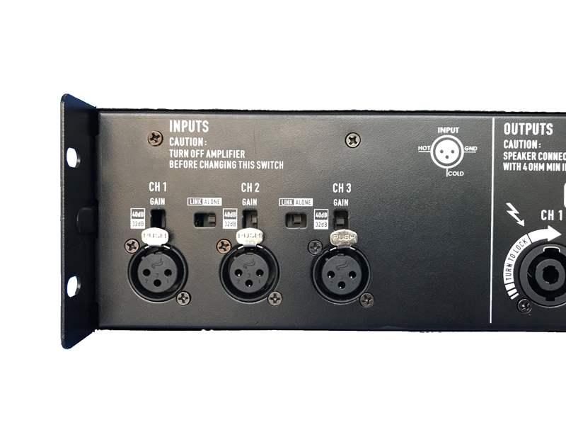 3 kênh nhận tín hiệu đầu vào trên T5.8